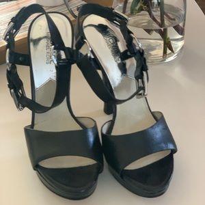 """Michael Kors 6"""" platform heels sz 9M"""